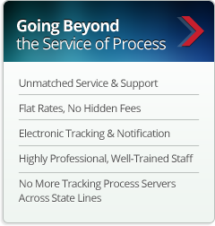 Going Beyond the Service of Process